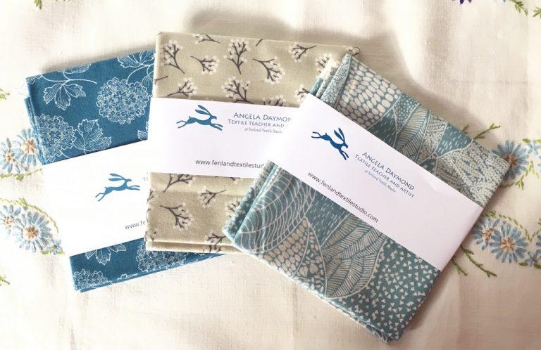 Angela Daymond fabric squares