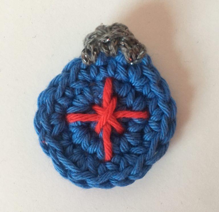 crochet bauble