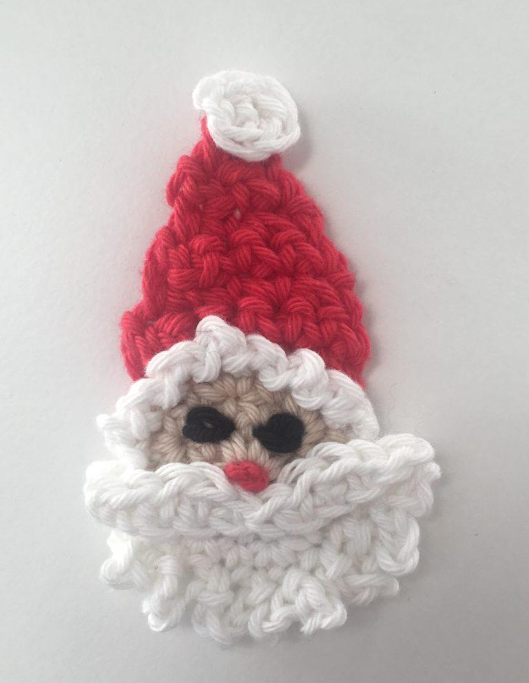 crochet Santa motif
