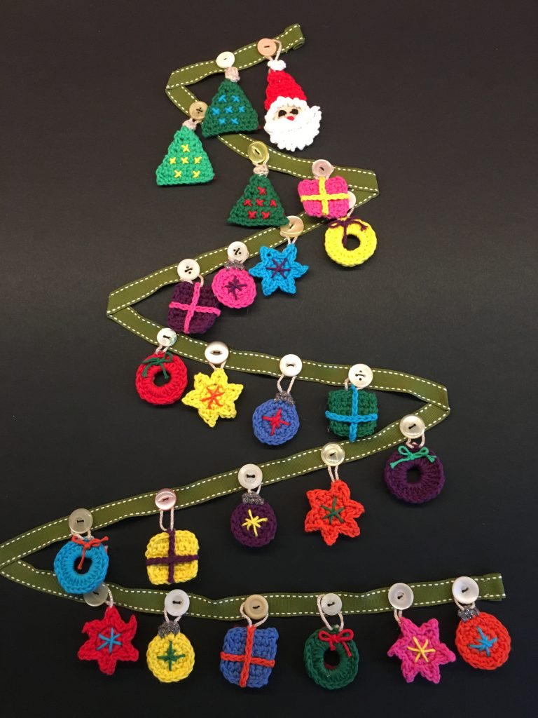 FInished Christmas Advent Calendar