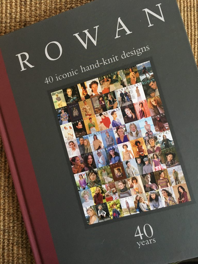Front cover of Rowan 40 Years book