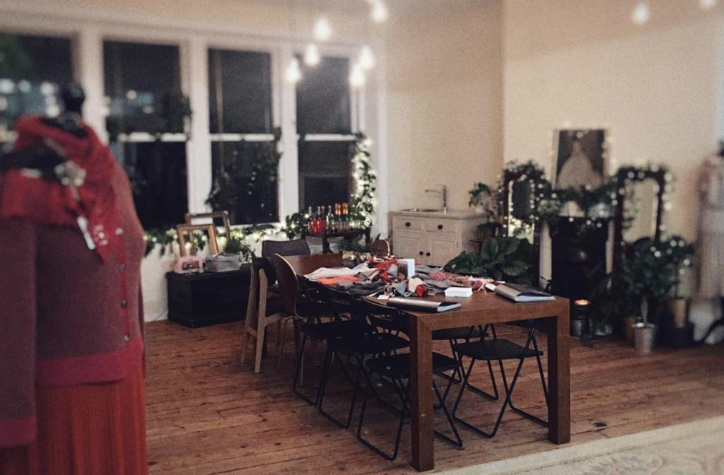 Louisa Harding's Yorkshire studio