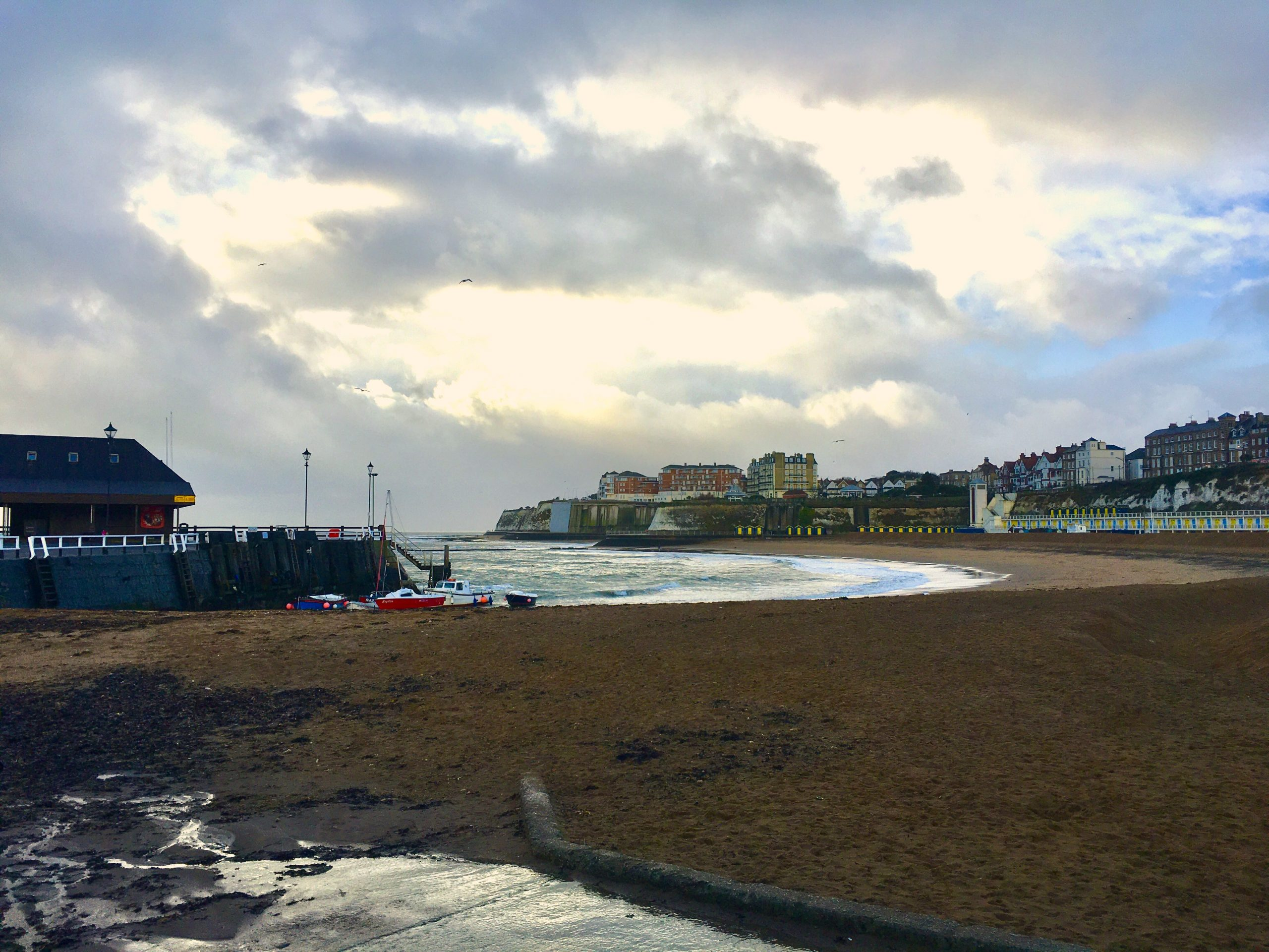 Broadstairs beach
