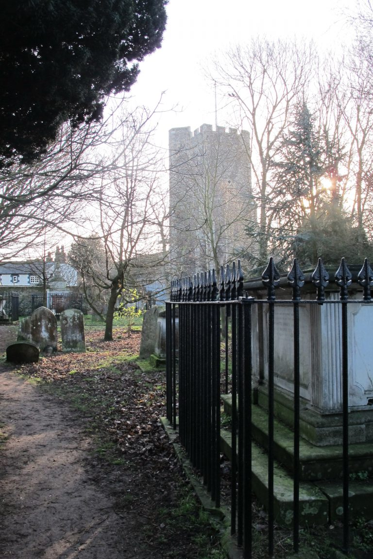 St Peters Thanet and graveyard