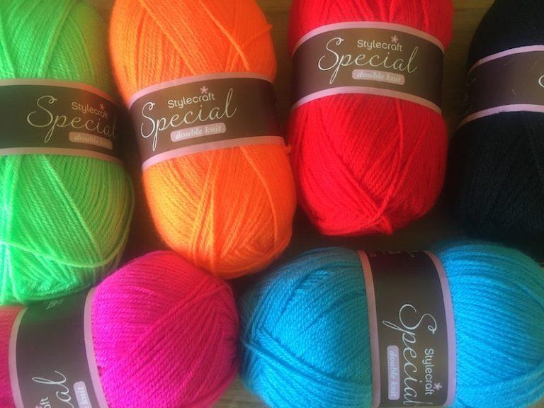 Bright Stylecraft DK yarn